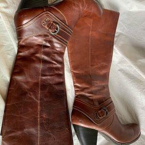 "Boc Size 9.5 Cowboy Boots Heel 3"" Leather"